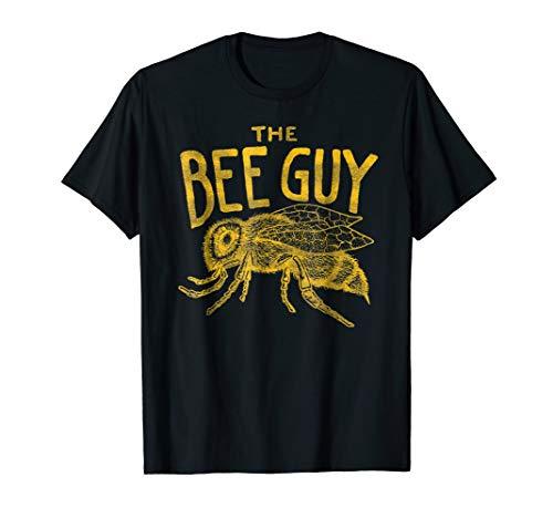 - Mens Beekeeper Shirt - The Bee Guy Beekeeping Honey Bee Graphic