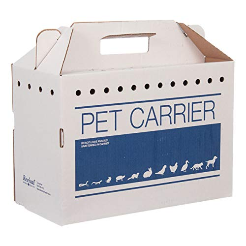 Revival Animal Health Cardboard Pet Carrier (12pk) by Revival Animal Health