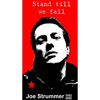 Joe Strummer Poster 24x36 inch rolled wall poster