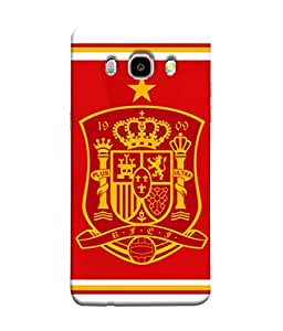 ColorKing Football Spain 14 Red shell case cover for Samsung J5 2016
