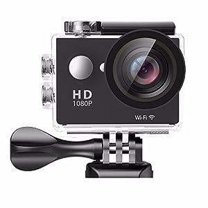PowMax Sports Camera,WW-16 4K WIFI 10m Underwater Sports Action Camera 16MP Waterproof Mini DV with