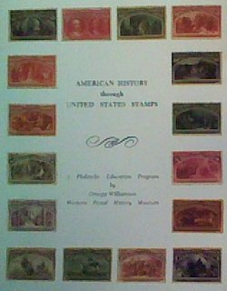 American history through United States stamps : a philatelic education program