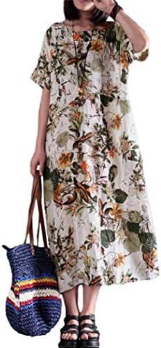 [해외]알토 식민지 꽃무늬 리조트 원피스 롱 반 소매 에스닉 나무 소녀 부드럽게 체형 커버 M  XL 레이디스 / Alto Colony Floral Resort One Piece Long Short Sleeve Ethnic Forest Girl Fluffy Body Cover M  XL Ladies
