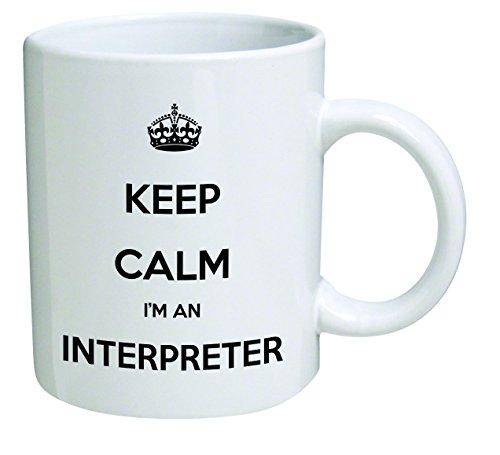 Funny Mug Interpreter Inspirational sarcasm product image