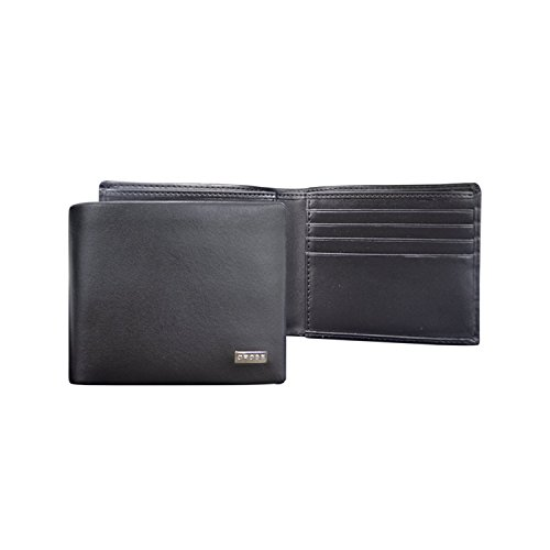cross-mens-artificial-leather-slim-bi-fold-wallet-with-credit-card-slot-cross-insignia-black-ac24812