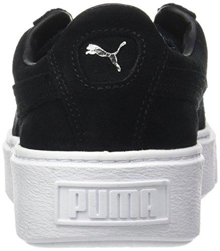 Puma Damen Suede Platform Sneaker Schwarz (puma Nero-puma Nero-puma Bianco)