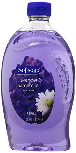 Softsoap Liquid Hand Soap Refill, Lavender and Chamomile, 32 Oz]()