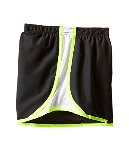Nike 3.5 Girls Tempo Running Pantaloncini Antracite / Bianco / Volt