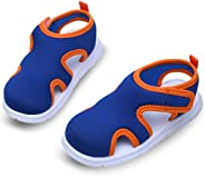 Lightweight Beach Sandals with EVA Foam - Slip on Water Shoes for Kids Girls & Boys in Swimming