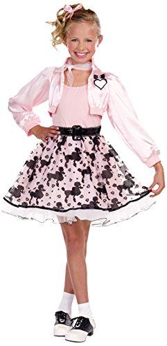 Poodle Costumes Ideas (SugarSugar Girls Pretty in Poodle Costume, One Color, Medium, One Color, Medium)