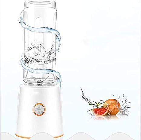 Licuadora Portátil, Licuadora con 2 Botellas Y Cuchilla De Acero ...