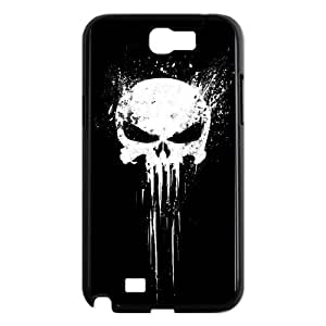 Bloody The Punisher Skull Logo Samsung Galaxy N2 7100 Cell Phone Case Black JN803757