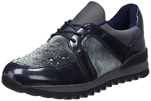 Basses Sneakers Gris 41573 Gris gris Bass3d Femme 6fqE5xw5R