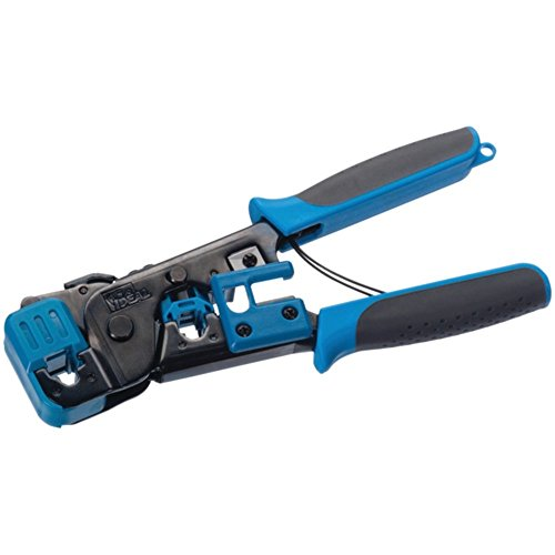 Ideal 30496 Crimp Tool Telemaster Series Blue For RJ-11 12 14 & 45 Modular Plugs Consumer Electronics Accessories