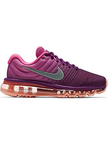 purchase cheap 0b443 d2ff0 Galleon - NIKE Womens WMNS Air Max 2017, Bright GrapeWhite-FIRE Pink-Pink  Blast, 12 M US