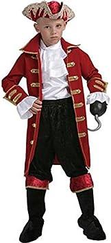 Atosa Disfraz de Capitán Pirata Niño. Talla 7/9 Años. Incluye. Camisa, Pantalón, Chaqueta, Cubre-Botas, Cinturón y Sombrero.: Amazon.es: Hogar