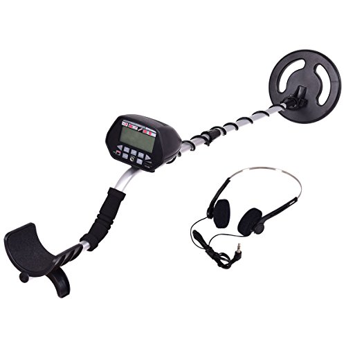 Goplus Underground Waterproof Metal Detector 8'' Deep Sensitive Search Gold Digger Hunter W/ Headphone by Goplus