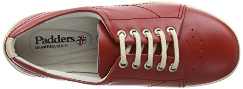 Multicolore Derby Padders Femme Jessica Red 7fqzqgwn