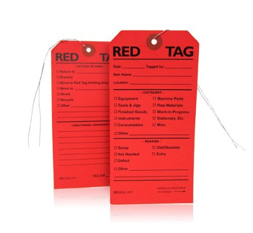 5s red tags - 1