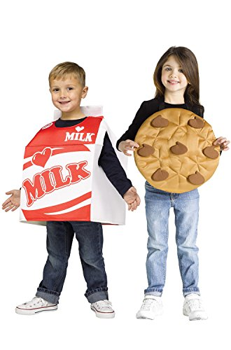 Fun World Milk and Cookies Costume for Toddlers -