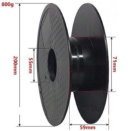 FrontierFila Madera oscura PLA 0.8kg 1.75mm Filamento para impresora 3D