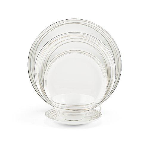 Mikasa Electric Boulevard Bone China 5-Piece Place Setting, Service for 1