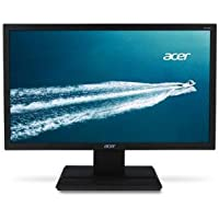Acer V206HQL Abmd 19.5 inch Widescreen 100,000,000:1 5ms VGA/DVI LED LCD Monitor, w/ Speakers (Black)