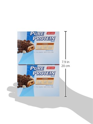 Pure Protein S'mores, 50 gram, 6 count (Pack of 2)