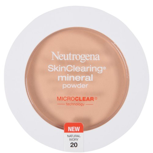 Price comparison product image Neutrogena Cosmetics Skinclear Min Pwd Nat Ivory 0.37 Oz