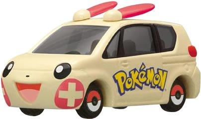 プラスルカー(クリーム×レッド/赤箱) 「ポケモントミカ P-01」の商品画像