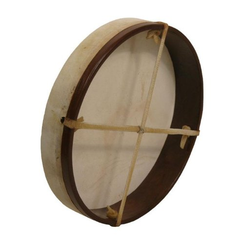 Frame Drum, 12'', with Beater by Mid-East