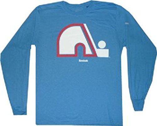 Quebec Nordiques Reebok Vintage Throwback Longsleeve T Shirt (Smalll)