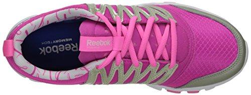 Reebok Dames Yourflex Trainet 5,0 L Cross-training Schoen Dynamisch Roze / Flint Grijs Metallic / Electro Roze / Wit