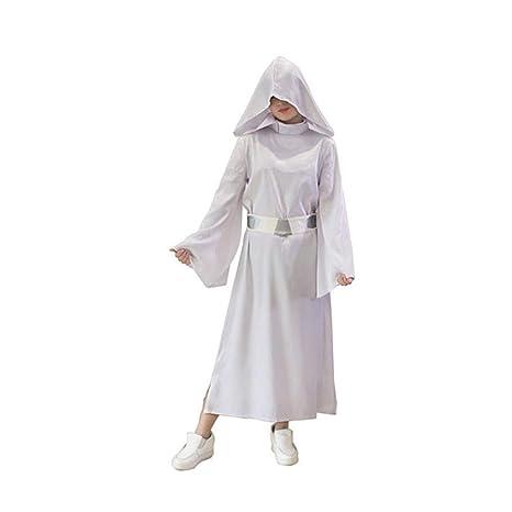 KYOKIM Star Wars Princess Leia Cosplay Ropa De Traje De ...