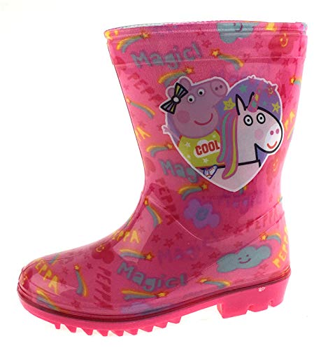 Peppa Pig Girls Wellington Boots Rain Shoes