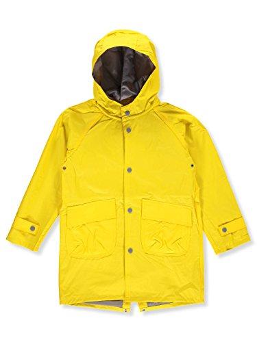 (Wippette Big Boys' Raincoat - Yellow, 18)