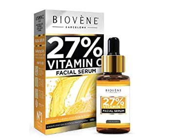 Amazon.com: Biovene Barcelona Vitamina C 27% Suero Facial ...
