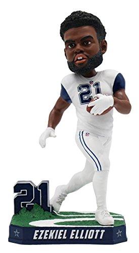 Forever Collectibles Ezekiel Elliott Dallas Cowboys Special Edition Color Rush Bobblehead NFL