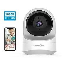 Wansview ネットワークカメラ1080P 200万画素 WiFi IPカメラ ...