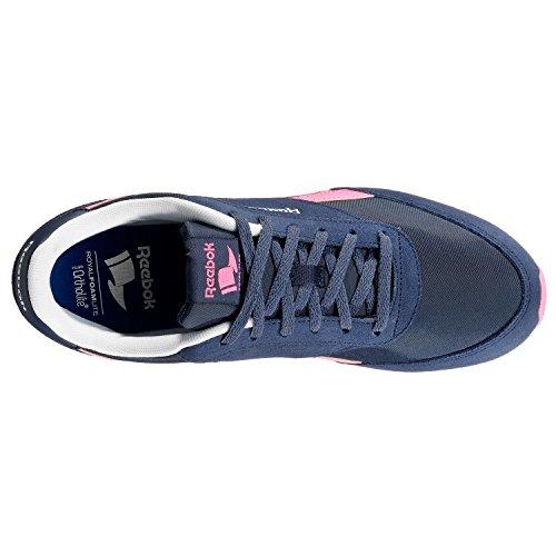 Sport Coll White Chaussures Bleu Azul 2 blue Royal Jogger de Cl Poison Hs Femme Reebok Navy Ink Pink xwpqUgYyx