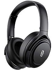Noise Cancelling Kopfhörer TaoTronics Bluetooth 5.0 Kopfhörer Over Ear[2020 Version] 40 Std. Laufzeit Mikrofon CVC 8.0 Typ-C Schnellladen für Smartphones Tablets Laptops