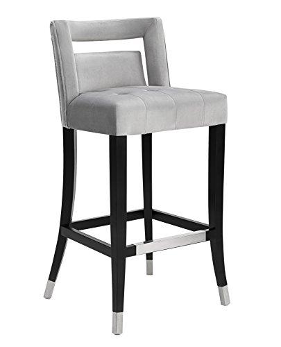 Amazon Com Tov Furniture Tov Bs26 Hart Velvet Stool