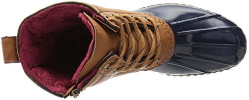Tommy Hilfiger Kvinners Hagl Regn Boot Brown