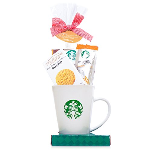 Starbucks Coffee Tall Mug Gift Set - New Assortment For 2016 Holiday Season - Damage-Free Guarantee