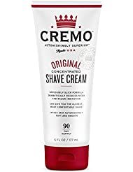 Cremo Original Shave Cream, Astonishingly Superior Smooth Shaving Cream Reduces Nicks, Cuts And Razor Burn, 6 Ounces