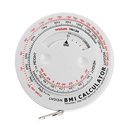 Buy HITSAN INCORPORATION BMI Body Mass Index Retractable Tape 150cm
