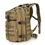 Purpume Military Tactics Backpack Camouflage Mochila Fishing Bag Kakhi