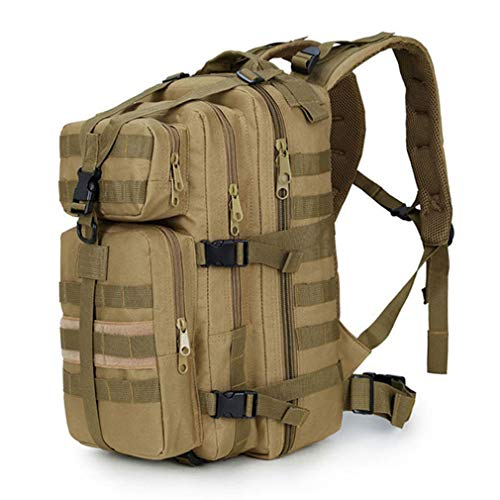 Purpume Military Tactics Backpack Camouflage Mochila Fishing Bag Kakhi by Purpume