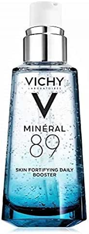 Vichy Mineral 89 Hydrating Hyaluronic Acid Serum and Daily Skin Booster, For Stronger, Healthier Looking Skin, 1.69 Fl Oz