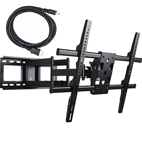 VideoSecu Dual Arm Cantilever TV Wall Mount Extends 25